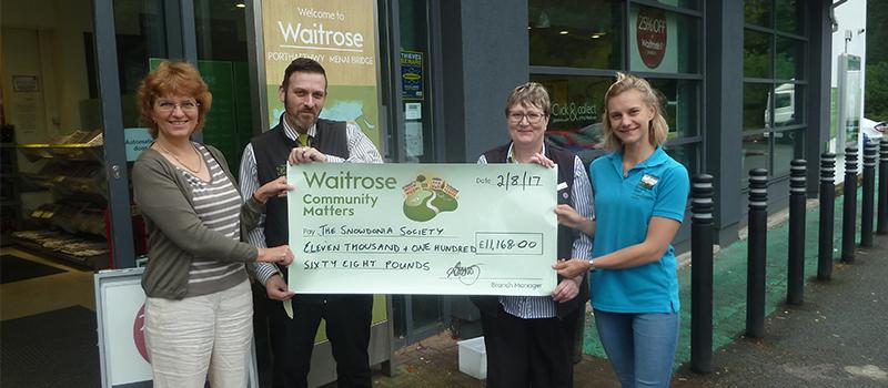 Waitrose donation